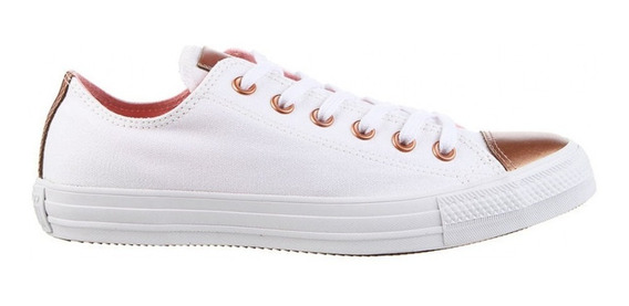 Zapatillas Converse De Lona Combinada Blush 166681