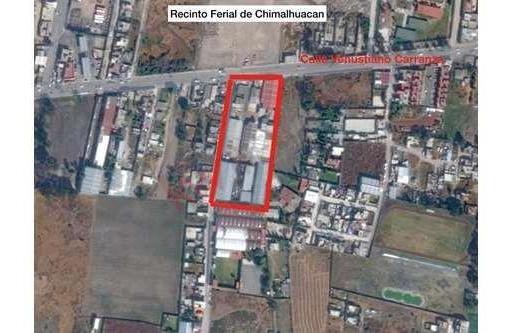 Terreno Con Uso De Suelo Mixto, Chimalhuacan