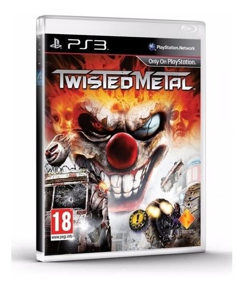 Twisted Metal Ps3 - Mídia Física | Com Garantia Playgorila