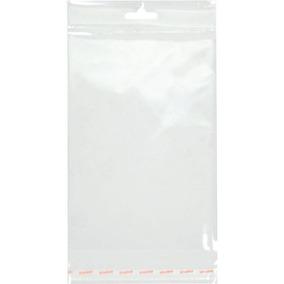 Saco Transparente Aba Adesiva E Furo 7,5x13 Cromus 100 Un