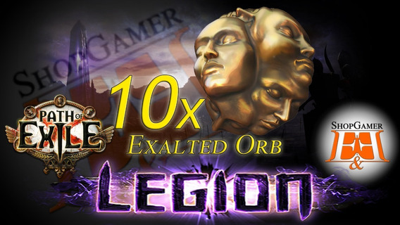 10x Exalted Orb - Path Of Exile - Legion Sc - Pc