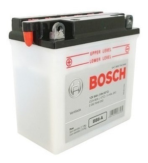 Bateria Moto 12v 8ah Bosch Bb8-a Suzuki Intruder 125