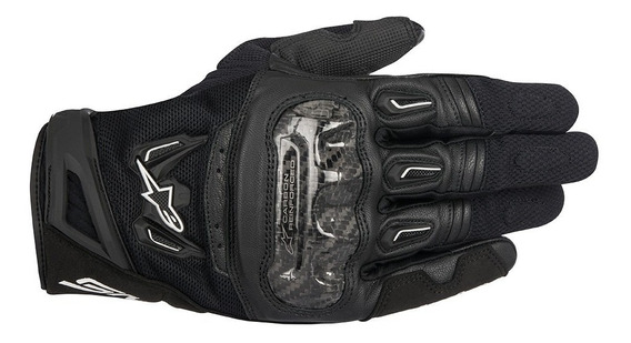 Luva Alpinestars Smx-2 Smx 2 Air Carbon Curta