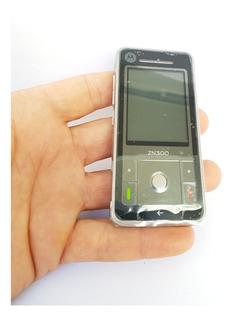 Celular Motorola Zn300 Novo Vitrine Sem Marcas Rarissimo