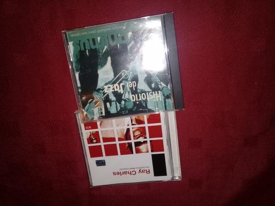 Lote Cds Ray Charles - Historia De Jazz -