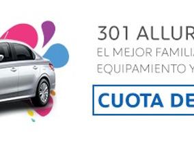 Peugeot - Autoplan 301 Allure Plus Cuota $4840