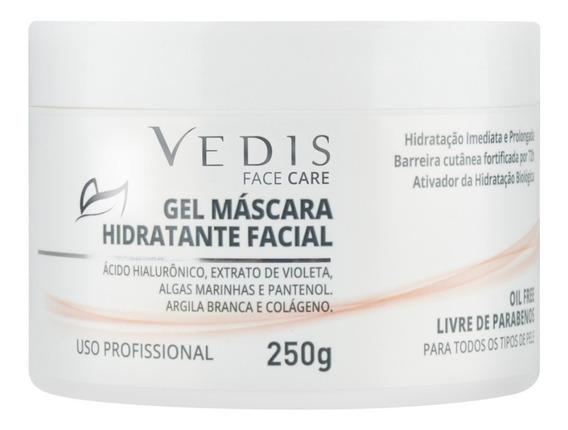 Máscara Gel Hidratante Facial Ácido Hialurônico 250g - Vedis