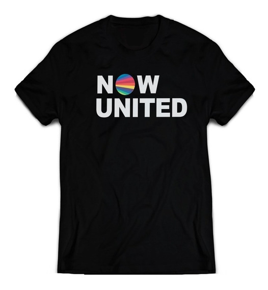 Camiseta Now United Infantil E Adul. Top Algodão Confortável