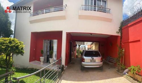 Sobrado Com 4 Dormitórios À Venda, 240 M² Por R$ 860.000,00 - Boa Vista - Curitiba/pr - So2508