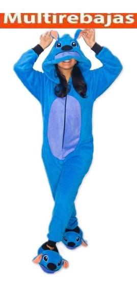 Hermosa Pijama De Stitch Hipoalergenica