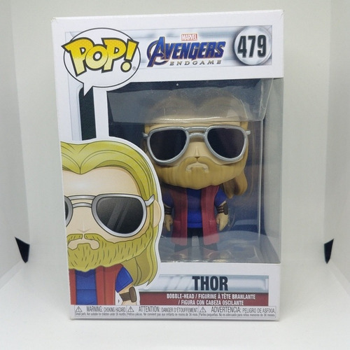 Figura Colección Funko Pop Marvel Avengers Endgame Thor