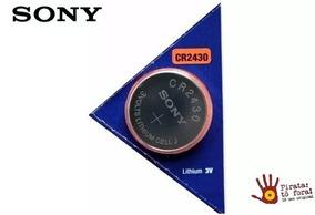 Bateria/pilha Cr2430 Sony - Cartela C/ 3 Unidades - Original
