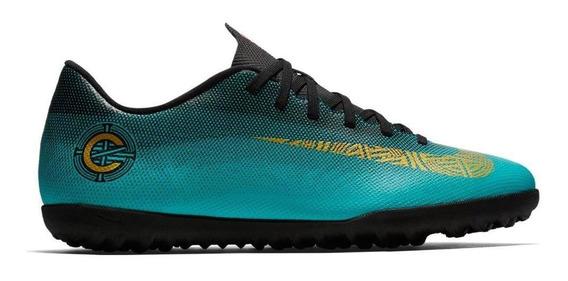 Chuteira Society Nike Vapor 12 Club Cr7 Masculino Aj3738-390