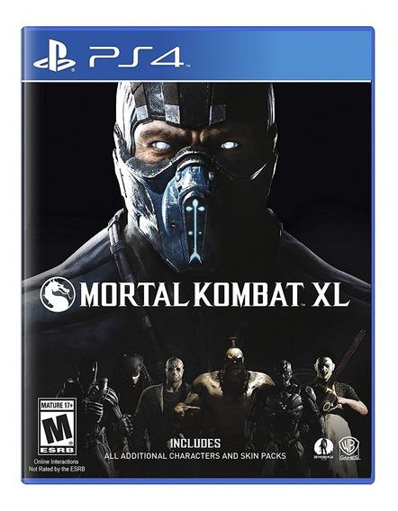 Mortal Kombat Xl Ps4 Mídia Física Lacrado Em Português