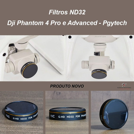 Filtros Nd32 Dji Phantom 4 Pro E Advanced - Pgytech