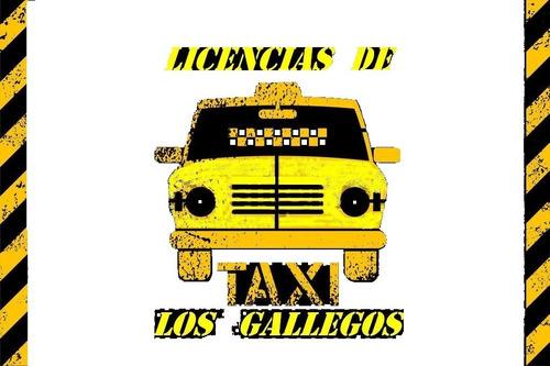 Taxis Y Licencias -  Los Gallegos - Financiacion Hasta 50%