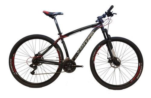 Imagen 1 de 1 de Mountain bike Venzo Shadow Series Loki Evo R29 XL 21v frenos de disco mecánico cambios Shimano color negro/gris