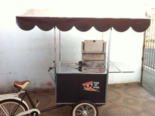 Food Bike Pizza Carrinhos Mini Pizza Com Forno À Gás