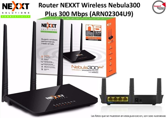 Router Nexxt Wireless Nebula300 Plus 300 Mbps (arn02304u9)
