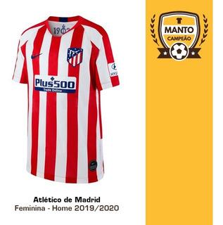 Camisa Feminina Atlético De Madrid 2019/2020 Home