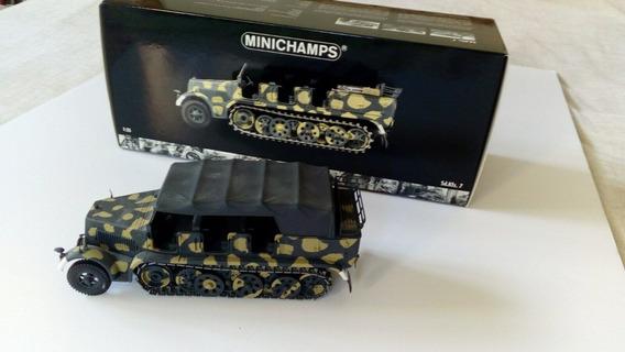 # Wwz Minichamps 1/35 Coleccion Metal Unico Sd.kfz.7 Wwii
