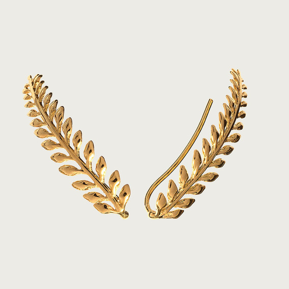 Brinco Ear Cuff Em Ouro 18k (750)