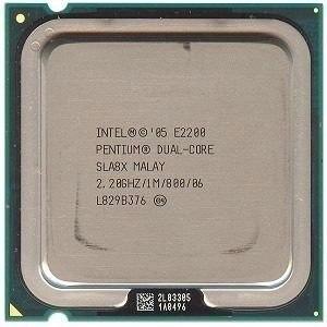 Processador 775 Dual Core E2200 2.20ghz /1m /800 - Promoção
