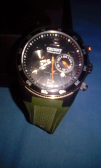Relógio Orient Sport Mbsnc002 E1ex Military