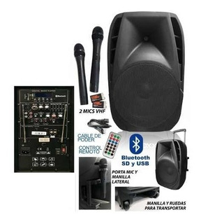 Parlante Activo 15 Bateria Recargable Queen Instrumentos