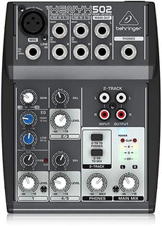 Consola Behringer 502 Xenyx 5 Canales -