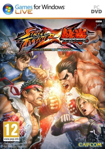 Street Fighter X Tekken Pc/notebook Original Frete Gratis!