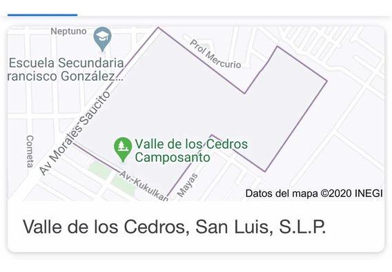 Terreno Cuádruple En Valle De Los Cedros San Luis Potosi