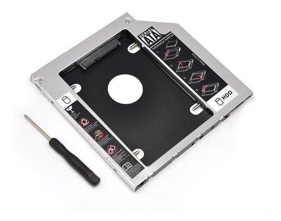 Adaptador Caddy Notebook Dvd P/ Hd Ou Ssd - Sony Vaio 9.5mm