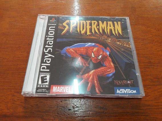 Spider Man Ps1 Slus 000875 Leia Descrição.