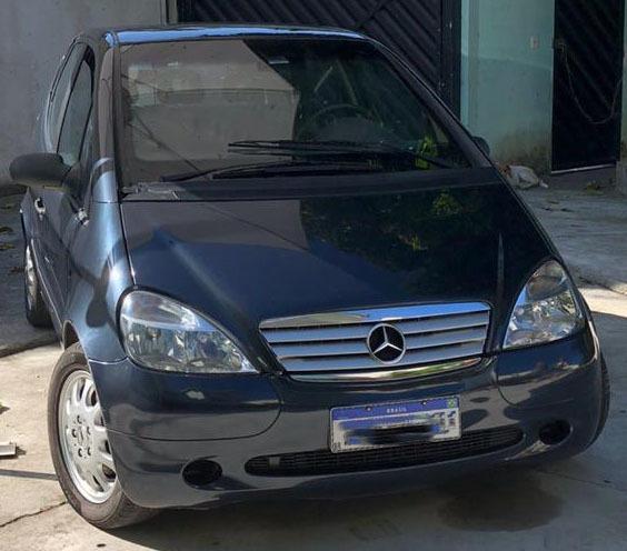 Mercedes-benz Classe A 190 2004 - Blindado
