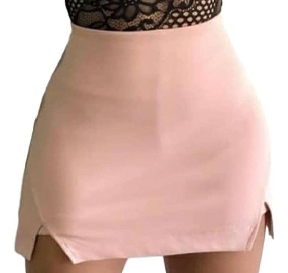 Conjunto Short Saia E Cropped Rendado Moda Blogueira