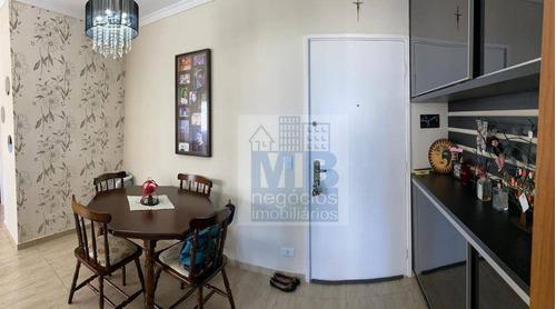 Apartamento Com 2 Dormitórios À Venda, 65 M² Por R$ 400.000,00 - Jardim Marajoara - São Paulo/sp - Ap2602
