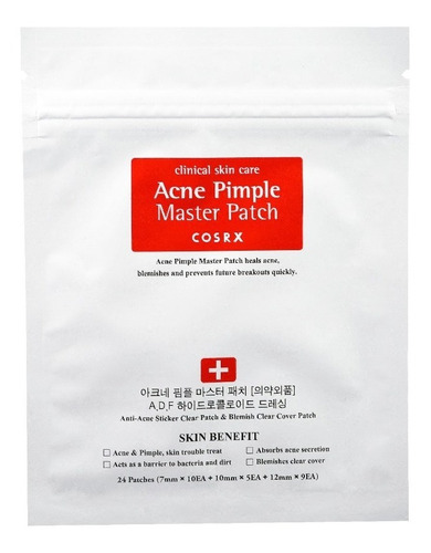 Cosrx Acne Pimple Master Patch - 1 Sobre Con 24 Parches