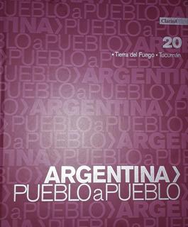Lote 17 Libros Argentina Pueblo A Pueblo De Clarin