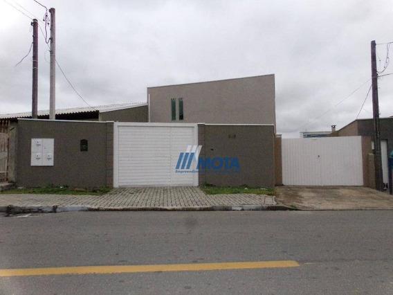 Casa Para Alugar, 48 M² Por R$ 800,00/mês - Emiliano Perneta - Pinhais/pr - Ca0267