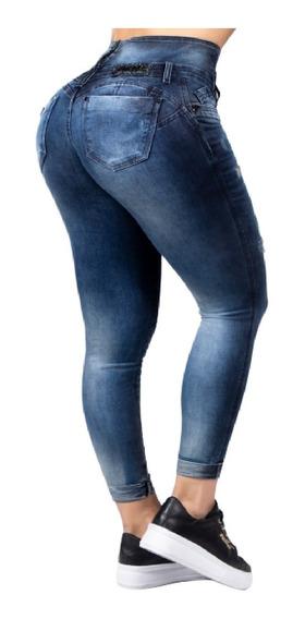 Lindíssima Calça Skinny Cós Mágico Pit Bull Jeans Original
