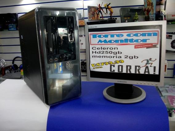 Computador Intel Dual Core 2gb 250gb Promoção