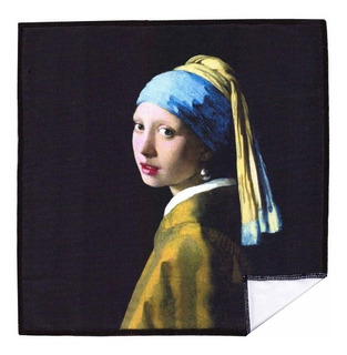 Paño Limpia Gafas 20cm La Joven Del Arete De Perla Vermeer