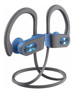 Auriculares inalámbricos Mpow Flame blue gray