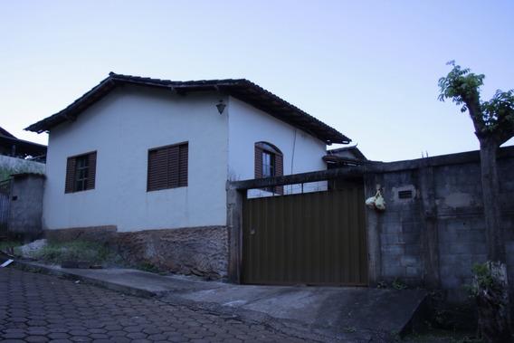 Casa 4 Quartos - Barão De Cocais - Progresso (fora De Risco)