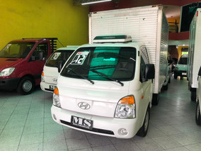 Hyundai Hr 2.5 Com Bau 2012 Com Climatizador Na Cabine