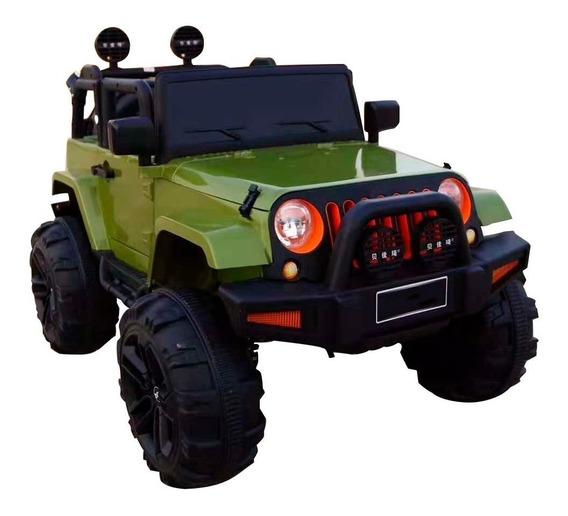 Mini Carro Elétrico Jipe Infantil Brinquedo Musica E Luzes