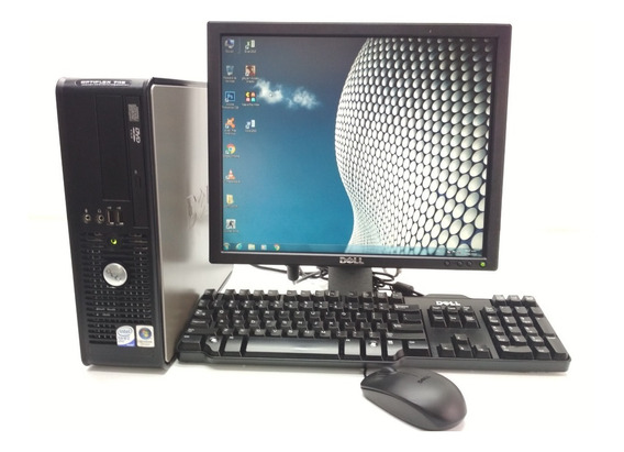 Computadora Barata Core 2 Duo 4gb Ram - 320 Hdd Ddr2 Lcd 17