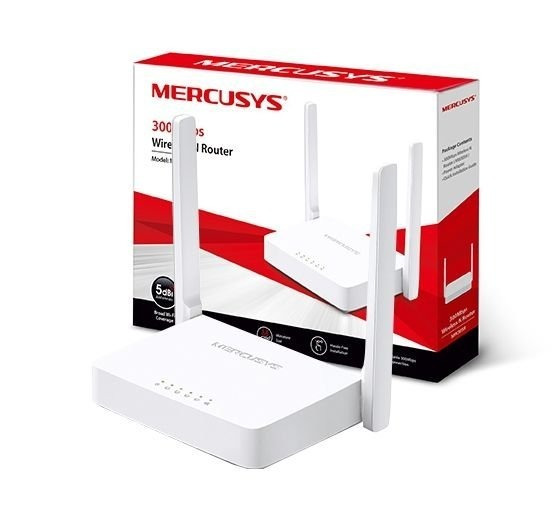 Roteador Tp-link Mercusys 2 Antenas 300mbps Mw301r