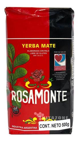 Imagen 1 de 2 de Rosamonte Yerba Mate 500 Grs